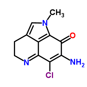 133401-03-3 7-amino-6-chloro-1-methyl-3,4-dihydropyrrolo[4,3,2-de]quinolin-8(1H)-one