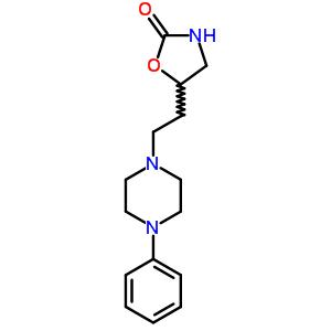 14736-19-7 5-[2-(4-phenylpiperazin-1-yl)ethyl]-1,3-oxazolidin-2-one