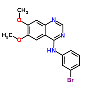 153436-54-5 N-(3-bromophenyl)-6,7-dimethoxyquinazolin-4-amine