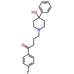 3109-12-4 1-(4-fluorophenyl)-4-(4-hydroxy-4-phenylpiperidin-1-yl)butan-1-one