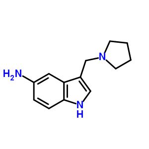 3414-75-3 3-(pyrrolidin-1-ylmethyl)-1H-indol-5-amine
