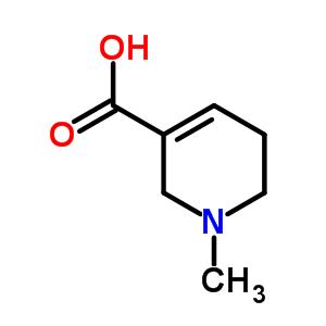 499-04-7 1-methyl-1,2,5,6-tetrahydropyridine-3-carboxylic acid