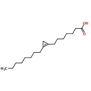 503-05-9 7-(2-octylcycloprop-1-en-1-yl)heptanoic acid