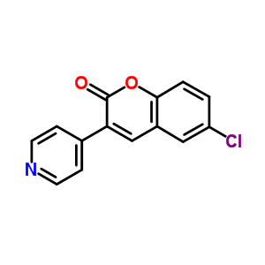 840-32-4 6-chloro-3-(pyridin-4-yl)-2H-chromen-2-one