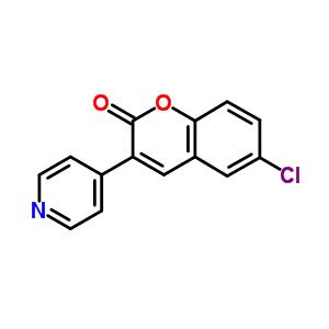840-32-4 6-chloro-3-(pyridin-4-yl)-2H-chromen-2-one