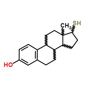 10329-87-0;7438-72-4 17-sulfanylestra-1,3,5(10)-trien-3-ol
