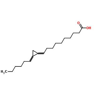 19625-10-6;503-06-0;83447-87-4 10-(2-hexylcyclopropyl)decanoic acid