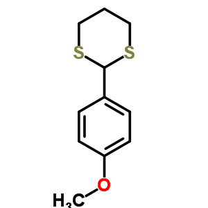 24588-72-5 2-(4-methoxyphenyl)-1,3-dithiane