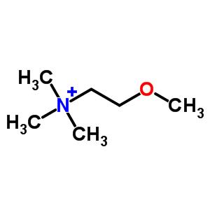 6340-44-9 2-methoxy-N,N,N-trimethylethanaminium