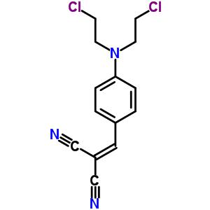 4213-30-3 {4-[bis(2-chloroethyl)amino]benzylidene}propanedinitrile