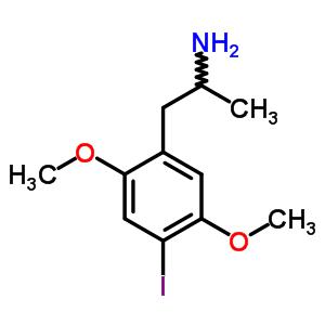 1-(4-Iodo-2,5-dimethoxyphenyl)propan-2-amine 64584-34-5