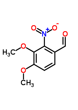 55149-84-3 3,4-Dimethoxy-2-nitrobenzaldehyde