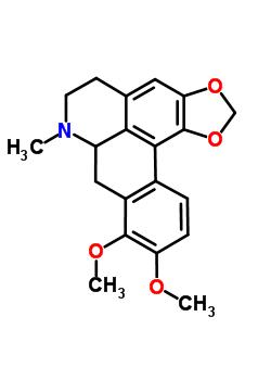 25127-29-1 9,10-dimethoxy-7-methyl-6,7,7a,8-tetrahydro-5H-[1,3]benzodioxolo[6,5,4-de]benzo[g]quinoline