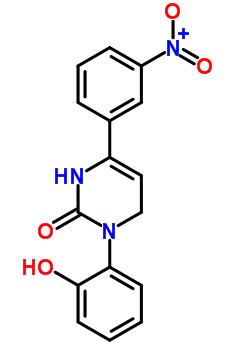 36945-98-9 3-(2-hydroxyphenyl)-6-(3-nitrophenyl)-3,4-dihydropyrimidin-2(1H)-one