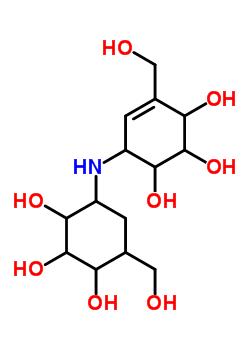 38665-10-0 4-(hydroxymethyl)-6-{[2,3,4-trihydroxy-5-(hydroxymethyl)cyclohexyl]amino}cyclohex-4-ene-1,2,3-triol
