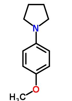 54660-04-7 1-(4-methoxyphenyl)pyrrolidine