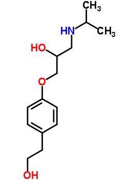 62572-94-5 1-[4-(2-hydroxyethyl)phenoxy]-3-(propan-2-ylamino)propan-2-ol