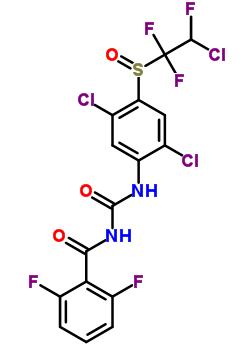 100341-97-7 N-({2,5-dichloro-4-[(2-chloro-1,1,2-trifluoroethyl)sulfinyl]phenyl}carbamoyl)-2,6-difluorobenzamide
