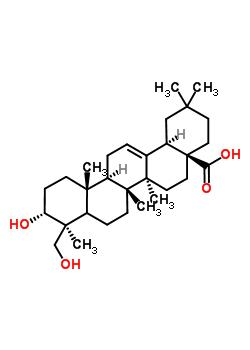 102919-76-6 (3alpha,5xi,18alpha)-3,24-dihydroxyolean-12-en-28-oic acid