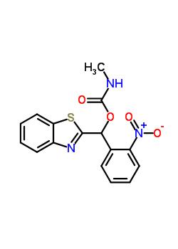 104030-04-8 1,3-benzothiazol-2-yl(2-nitrophenyl)methyl methylcarbamate