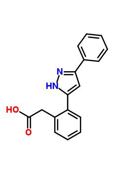 104907-27-9 [2-(3-phenyl-1H-pyrazol-5-yl)phenyl]acetic acid
