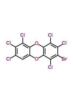 136471-78-8 2-bromo-1,3,4,6,7,8-hexachlorooxanthrene