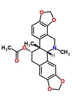 18797-80-3 O~11~-acetyl-13-methylchelidonine