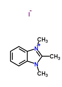 3805-38-7 1,2,3-trimethyl-1H-benzimidazol-3-ium iodide
