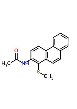 41935-82-4 N-[1-(methylsulfanyl)phenanthren-2-yl]acetamide