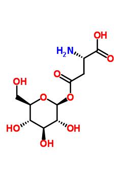 42721-22-2 (2S)-2-amino-4-oxo-4-{[(2S,3R,4S,5S,6R)-3,4,5-trihydroxy-6-(hydroxymethyl)tetrahydro-2H-pyran-2-yl]oxy}butanoic acid (non-preferred name)