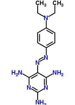 4449-92-7 5-{(E)-[4-(diethylamino)phenyl]diazenyl}pyrimidine-2,4,6-triamine