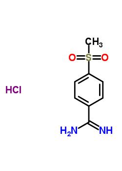 5434-06-0 4-(methylsulfonyl)benzenecarboximidamide hydrochloride (1:1)