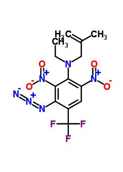 59431-83-3 3-azido-N-ethyl-N-(2-methylprop-2-en-1-yl)-2,6-dinitro-4-(trifluoromethyl)aniline