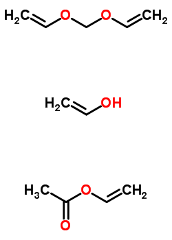 Acetic acid ethenyl ester, polymer with ethenol and 1,1 ...