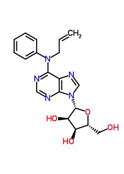 71735-91-6 N-phenyl-N-prop-2-en-1-yladenosine