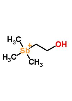 81435-66-7 (2-hydroxyethyl)(trimethyl)stibonium