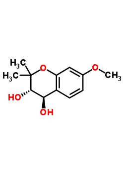 82864-21-9 (3S,4R)-7-methoxy-2,2-dimethyl-3,4-dihydro-2H-chromene-3,4-diol