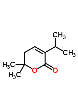 97411-31-9 6,6-dimethyl-3-(propan-2-yl)-5,6-dihydro-2H-pyran-2-one