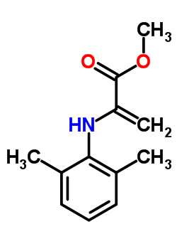 98166-08-6 methyl 2-[(2,6-dimethylphenyl)amino]prop-2-enoate