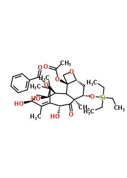 115437-18-8 7-O-(Triethylsilyl)-10-deacetyl Baccatin III
