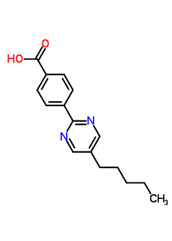 123704-47-2 5-Pentylpyrimidine-2-Yl-P-BenzoicAcid