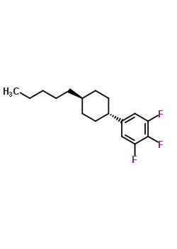 131819-22-2 1,2,3-trifluoro-5-(trans-4-pentylcyclohexyl)benzene
