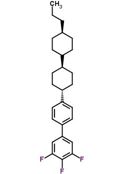 3,4,5-trifluoro-4'-[(trans,trans)-4'-propyl[1,1'-bicyclohexyl]-4-yl]-1,1'-Biphenyl 137529-41-0