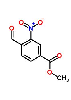 153813-69-5 METHYL 4-FORMYL-3-NITROBENZOATE 97