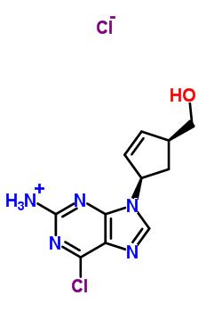 172015-79-1 (1S,4R)-4-(2-Amino-6-chloro-9H-purin-yl)-2-cyclopentene-1-methanol,HCl