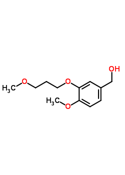 172900-74-2 3-(3-methoxypropoxy)-4-methoxyphenylmethanol