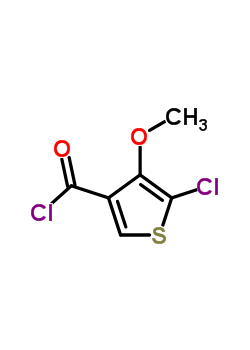 175137-49-2 5-Chloro-4-methoxythiophene-3-carbonylchloride