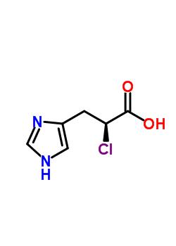 17561-26-1 (S)-(-)-2-Chloro-3-[4(5)-imidazolyl]propionic Acid
