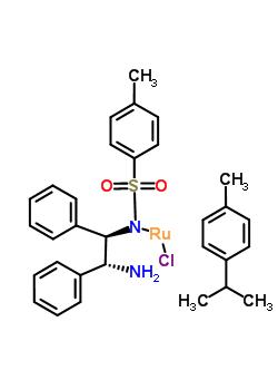 氯{[(1R,2R)-(-)-2-氨-1,2-二苯乙基](4-甲苯磺酰)氨}(P-異丙基甲苯)釕(II)