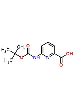 258497-21-1 6-N-Boc-aminopicolinic acid